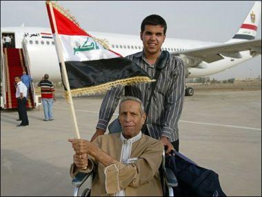 e256e280714ec بغداد (ا ف ب) - هبطت طائرة تابعة لشركة سويدية آتية من كوبنهاغن تقل عشرات  العراقيين في مطار بغداد عصر الجمعة وذلك للمرة الاولى منذ 18 عاما عندما فرضت  الامم ...